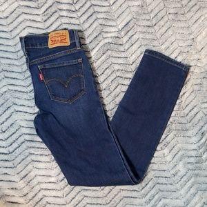 Levi Strauss 712 Slim Jean Size 25